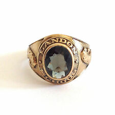 RARE Vtg LANDON SCHOOL 10K Gold Class of 1935 Graduation Ring Size 9/ 1.9cm