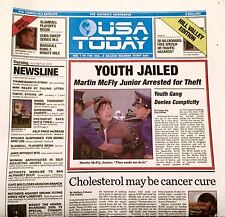 LIMITED EDITION USA October 22, 2015 Today Newspaper Back To The Future 2