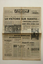 Journal l'Equipe n°6229 - 1966 - Red Star Nantes - Cester Spanghero - Cooper F3