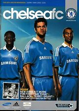 Football Programme CHELSEA v BOLTON WANDERERS May 2008