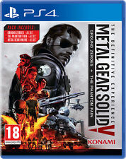 Metal Gear Solid V: The Definitive Experience PS4 **Brand New & Factory Sealed**