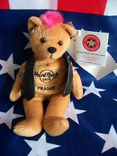 HRC Hard Rock Cafe Prague Prag Praha Punk Bear Mohawk 2009 Pink Hair Herrington