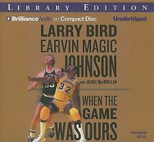 When the Game Was Ours 2009 by Bird, Larry; Johnson, Earvin Magic 1441836438