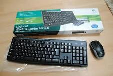 Keyboard and mouse Logitech Wireless Combo MK260