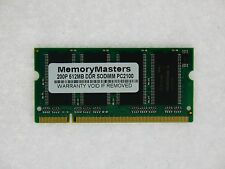 512MB DDR266 SODIMM for Toshiba Satellite A10 A15 A20