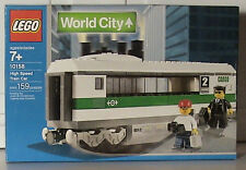 LEGO Train 9V World City 10158 High Speed Train Car New Sealed