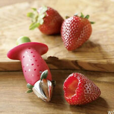 Novelty Useful Red Color Strawberry Tomatoes Stem Leaves Huller Remover