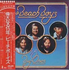Sealed Rare Japanese OOP NEW 15 BIG ONES CD Carl Brian Wilson Beach Boys Japan