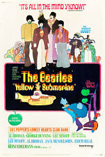 "The Beatles Yellow Submarine Movie Poster  Replica 13x19"" Photo Print"