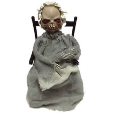 Halloween Animado Haunted Horror Partido Prop Mecedor chair-coaxing Dama Esqueleto