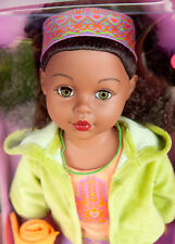 """New MY LIFE as YOGA INSTRUCTOR AFRICAN AMERICAN Doll 18"""" BY MADAME ALEXANDER"""