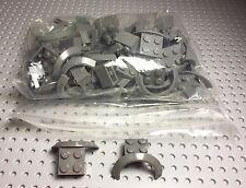 Lego New Bulk Lot Truck,car Vehicle Dark Gray Mudguards X24 Parts / Pieces