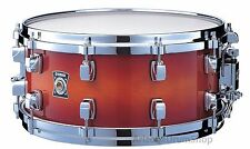 Yamaha Sensitive Series 14x5.5 Maple Snare Drum, AMBER SUNBURST (MSD1455-AMS)