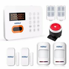 KERUI X1 PSTN Touch Keypad Alarm LCD Wireless&wired Home Security Alarm System