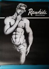 POSTER - GAY BAR-MAKE BEST OFFER -RAWHIDE NYC BAR POSTER  Print#5