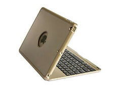 New Gold Wireless Bluetooth Keyboard with Stand Folio Case Cover For iPad Air 2