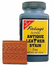 Fiebing's Acrylic Antique Leather Stain Tan 4 oz 2607-19