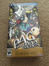Persona 4 Golden: Solid Gold Premium Edition (Sony PlayStation Vita, 2012)