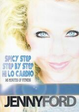 JENNY FORD DVD 3 WORKOUTS SPICY STEP HI LO CARDIO  NEW & STEP BY STEP AEROBICS