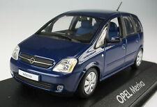 MINICHAMPS - OPEL Meriva A - blau metallic -- 1:43 -- NEU in OVP -- Modellauto