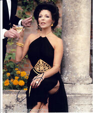 """Joan Collins Colour 10""""x 8"""" Signed 'Dynasty' Photo - UACC RD223"""