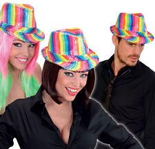 Regenbogen Partyhut NEU - Karneval Fasching Hut Mütze Kopfbedeckung