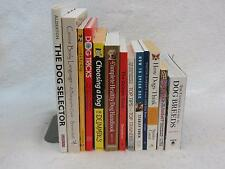Lot of 13 Books on DOGS: Body Language / Dog Tricks / Dog Breeds / Health
