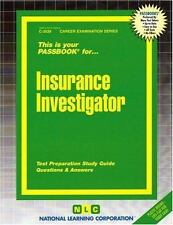 Insurance Investigator (Career Exam Series, C-3539)