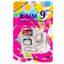VÉRITABLE R-SIM 9 PRO Card Unlock iPhone 4S / 5SE iOS 6-8x AT & T - RSIM