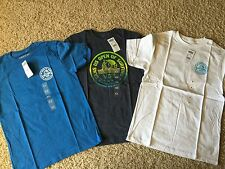 LOT OF 3 - NEW VANS OFF THE WALL BOY'S YOUTH TSHIRT T SHIRT SURF SKATE MEDIUM M