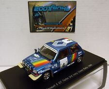 RENAULT 5 GT TURBO #4 OREILLE IVORY COAST RALLY 1990 1/43 SPARK S3860