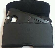 FOR HTC ONE E8  XL HOLSTER BELT CLIP LOOP POUCH FITS WITH A HYBRID CASE ON PHONE