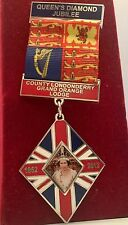 Queen Elizabeth II Diamond Jubilee  medal with ribbon 1952-2012