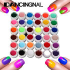 Pro 36 Color Nail Art Lady Manicure Shiny Extension UV Gel Builder Tips Glue Hot