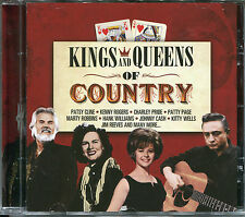 KINGS AND QUEENS OF COUNTRY CD - RAWHIDE, CRAZY, EL PASO & MORE