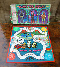 VINTAGE BOARD GAME MONSTER SQUAD MILTON BRADLEY TOY 1977 DRACULA FRANKENSTEIN