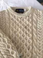 NEW Tivoli Aran Wool Chunky Cable Knit Children's Sweater - 5-7