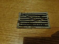 IR NWU Type II DONT TREAD ON ME  DESERT / TAN  Patch HOOK   AOR1     NEW