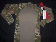 MASSIF GEAR MULTICAM SHIRT COMBAT S SMALL NEW TAGS MADE USA MILITARY ISSUE ACU b