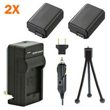 2 Batteries + Charger for Sony Alpha NEX-6 NEX-6L NEX-6Y NEX6/B NEX6L/B NEX5TL/B