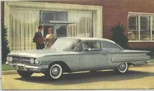 1960 Chevy Biscayne 2-Door Sedan Advertising Postcard