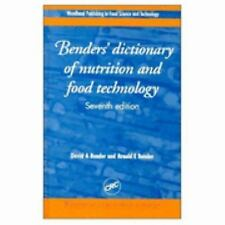 Benders' Dictionary of Nutrition and Food Technology, Seventh Edition-ExLibrary