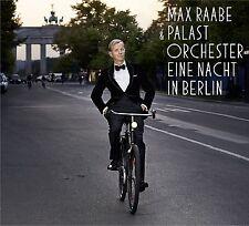 MAX & PALAST ORCHESTER RAABE - EINE NACHT IN BERLIN  CD + DVD NEU