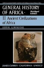 UNESCO General History of Africa, Vol. II, Abridged Edition: Ancient Africa v.