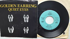 "GOLDEN EARRING - Quiet Eyes / Love in Motion PROMO 1986 CLASSIC ROCK 7"" p/s"