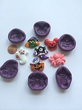 Halloween  Flexible Silicone Push Mold for Polymer clay Resin Miniature food