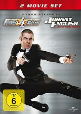 JOHNNY ENGLISH BOXSET (ROWAN ATKINSON, ROSAMUND PIKE,...)  2 DVD NEU
