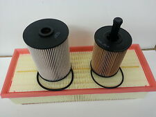VW Golf MK5 1.9TDi 1896cc Oil Air Fuel Filter Borg Beck Service Kit 2006-08 opt2