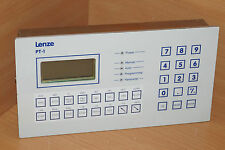 LENZE PT-1 PSX ES Operator panel Operating terminal Software Version 2.03