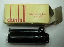 WW2 Dunhill Service Lighter - Rare Black Color - In Box W/ Paper
